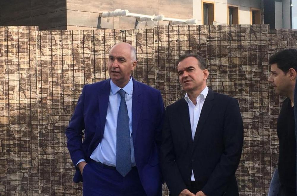 Разбираться с архитектурой Новороссийска приехал губернатор