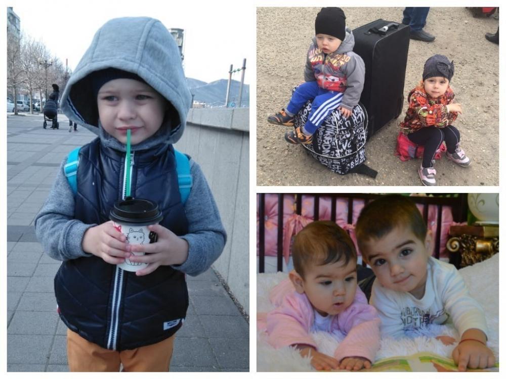 Миша, Максим, Мила, Леон и Милена - участники конкурса «Детки-конфетки»