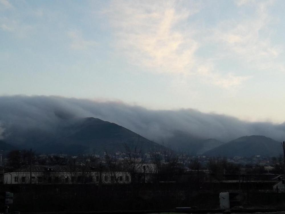 Прогонит ли из Новороссийска облака северо-западный ветер?