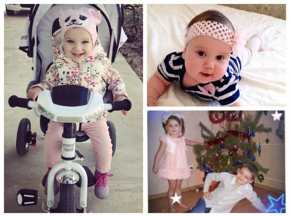 Элина, Юлия, Виталя и Вероничка - участники конкурса «Детки-конфетки»