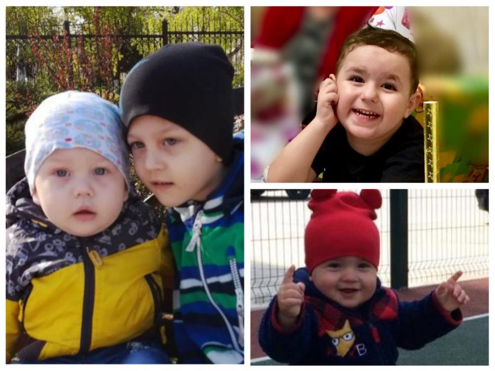 Герман, Назар, Артурик и Василий - участники конкурса «Детки-конфетки»