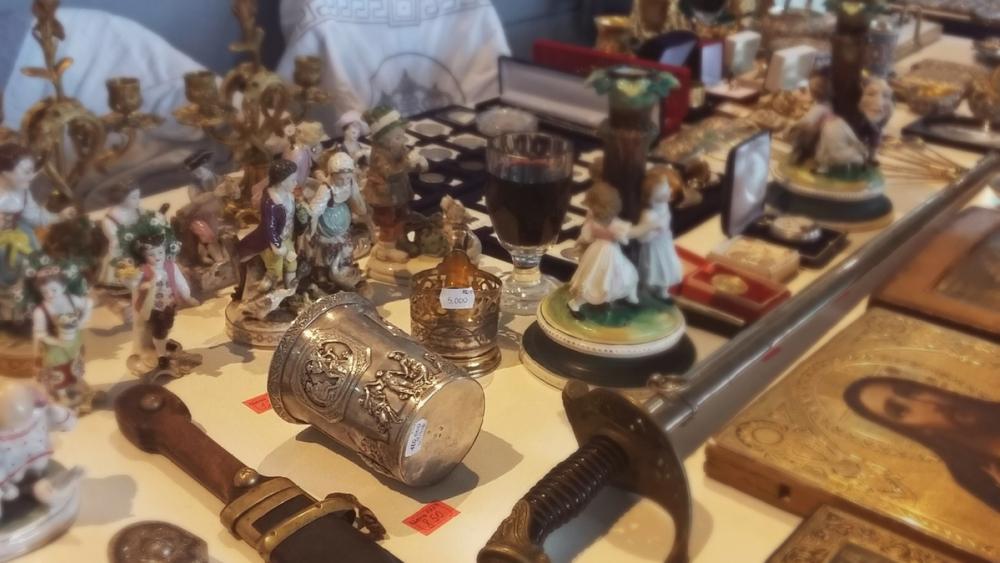 Ложка за 80 000 и кружка за 160 000 – что показывали новороссийцам на «Ярмарке увлечений»