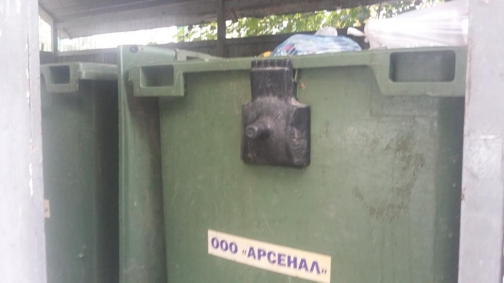 Администрация Новороссийска хочет установить датчики на мусорные контейнеры