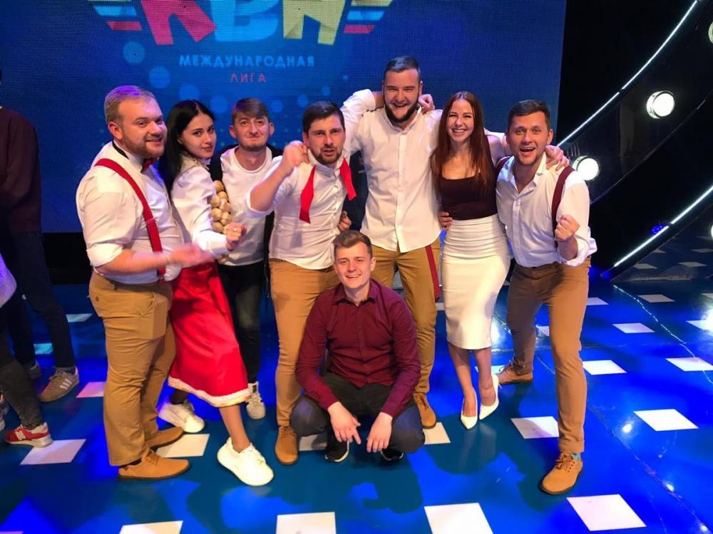 Сборная КВН Новороссийска впервые в истории вышла на международную арену
