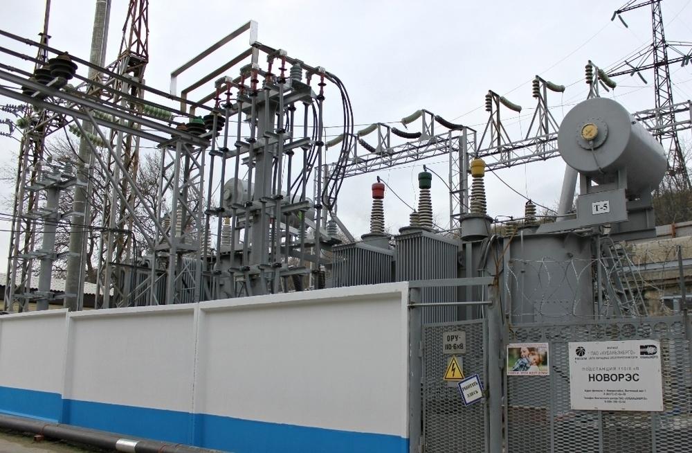 Кубаньэнерго завершило реконструкцию крупнейшей подстанции Новороссийска