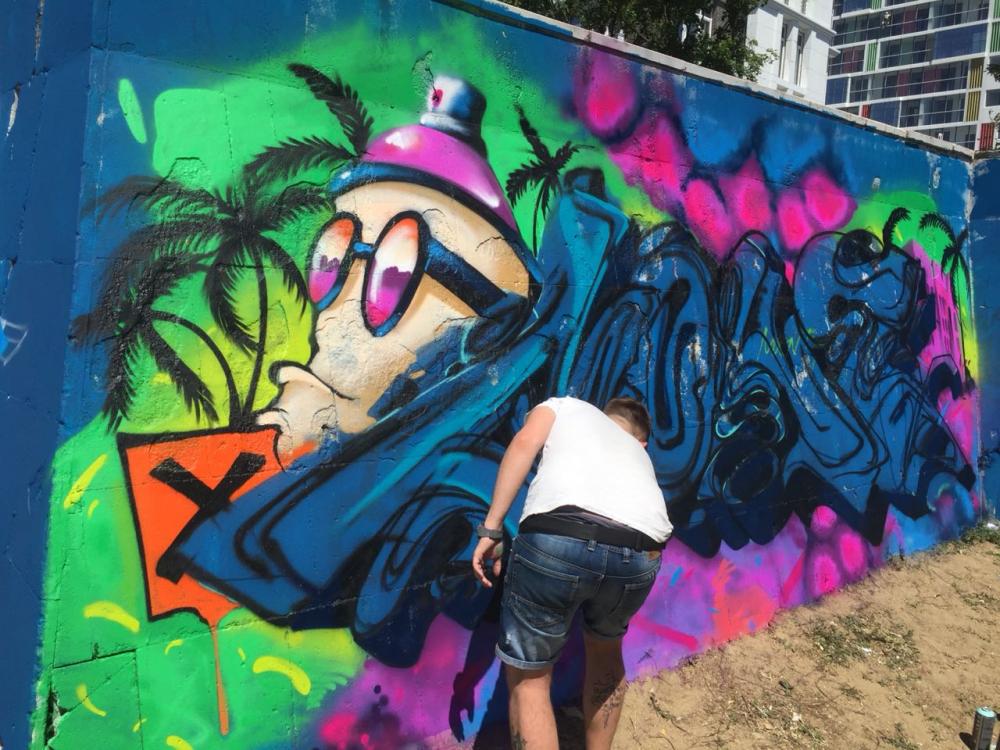 Открытие краснодарского граффити-парка глазами новороссийца