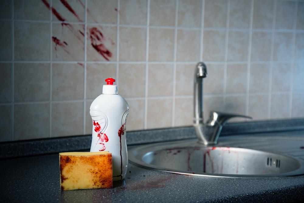 - Не вымыл за собой посуду? Тогда – умри! – убил за антисанитарию