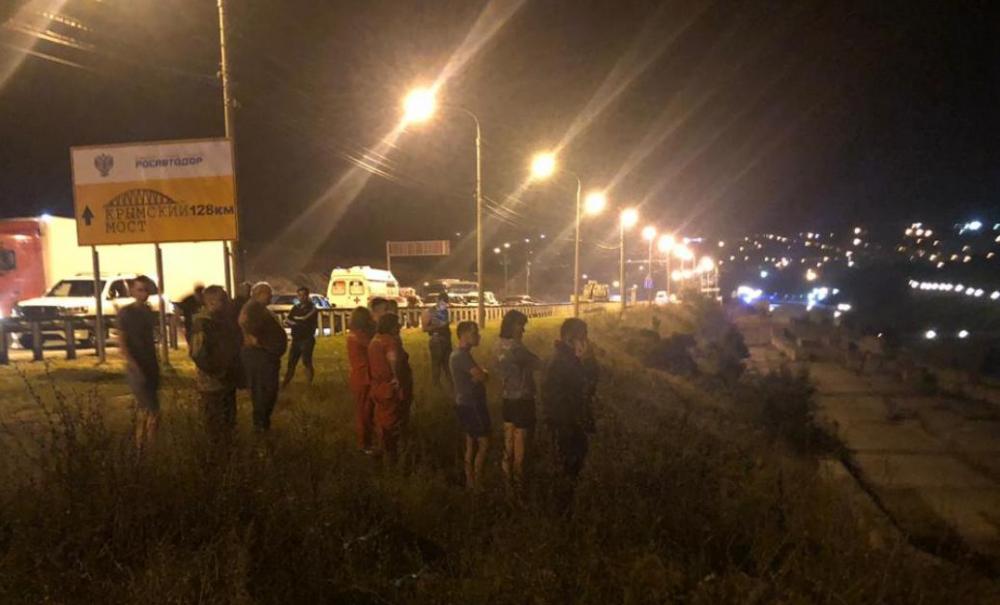 В упавшем автобусе никто не погиб - трое погибших в иномарке