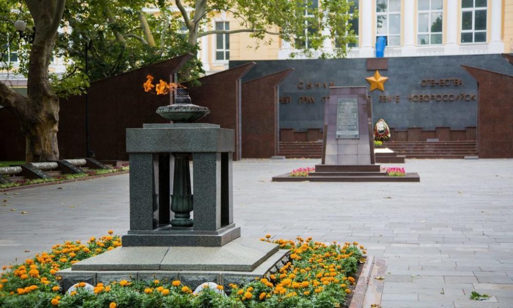 Воинские захоронения приведут в порядок в Новороссийске