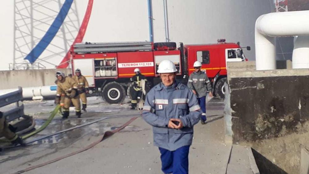 В АО «Черномортранснефть» прокомментировали пожар на нефтебазе в Новороссийске