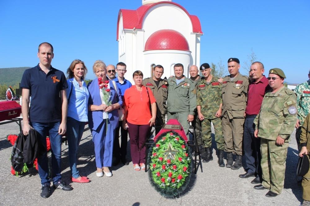 После 75 лет поисков останки красноармейца забрали из Новороссийска