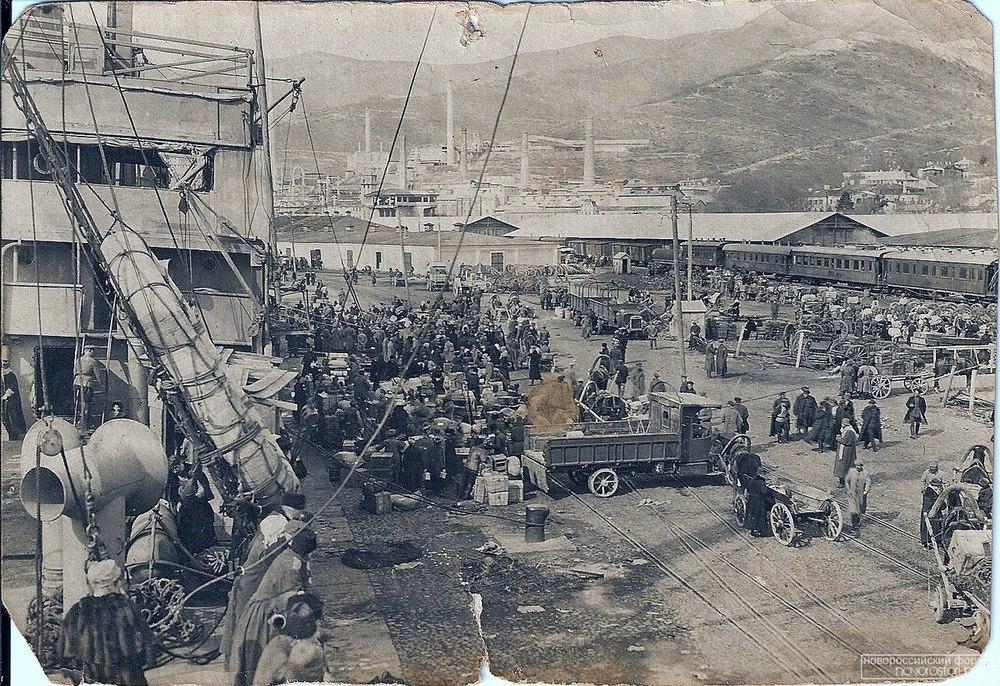 Эвакуация из Новороссийска  1920 года
