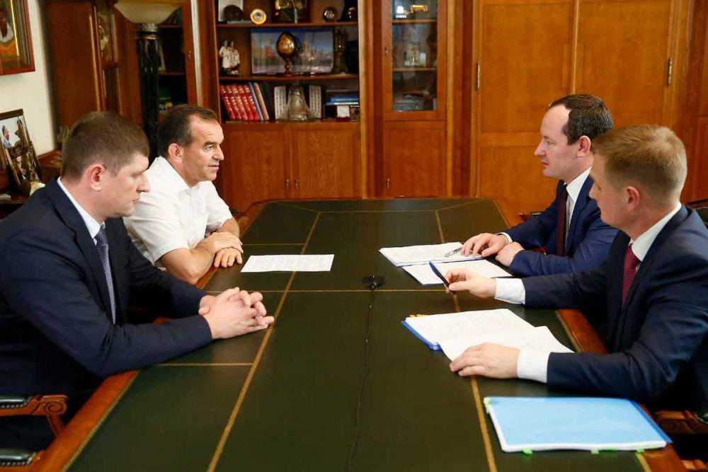 Руководство «Россети Кубань» обсудило развитие регионального энергокомплекса с губернатором края