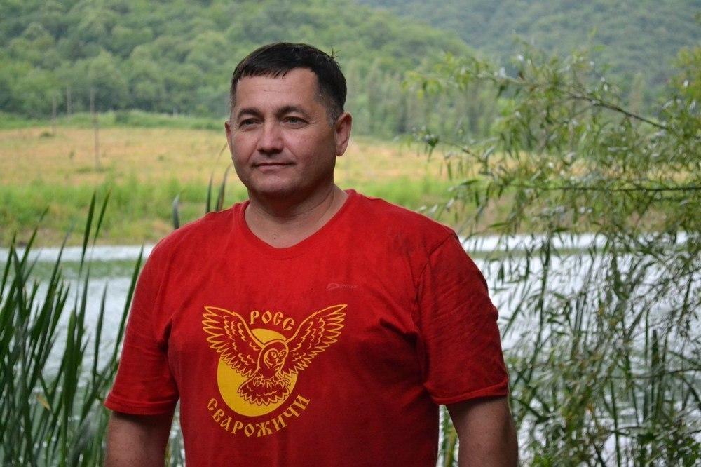 Полувековой юбилей празднует руководитель клуба «Сварожичи» Александр Горпенко