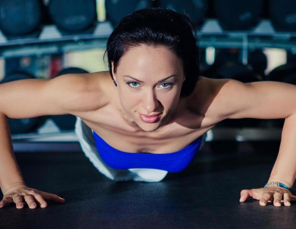 Коротко о Марии Власовой: «Когда ты ценишь не близость спортзала, а возможность заниматься именно у нее!»