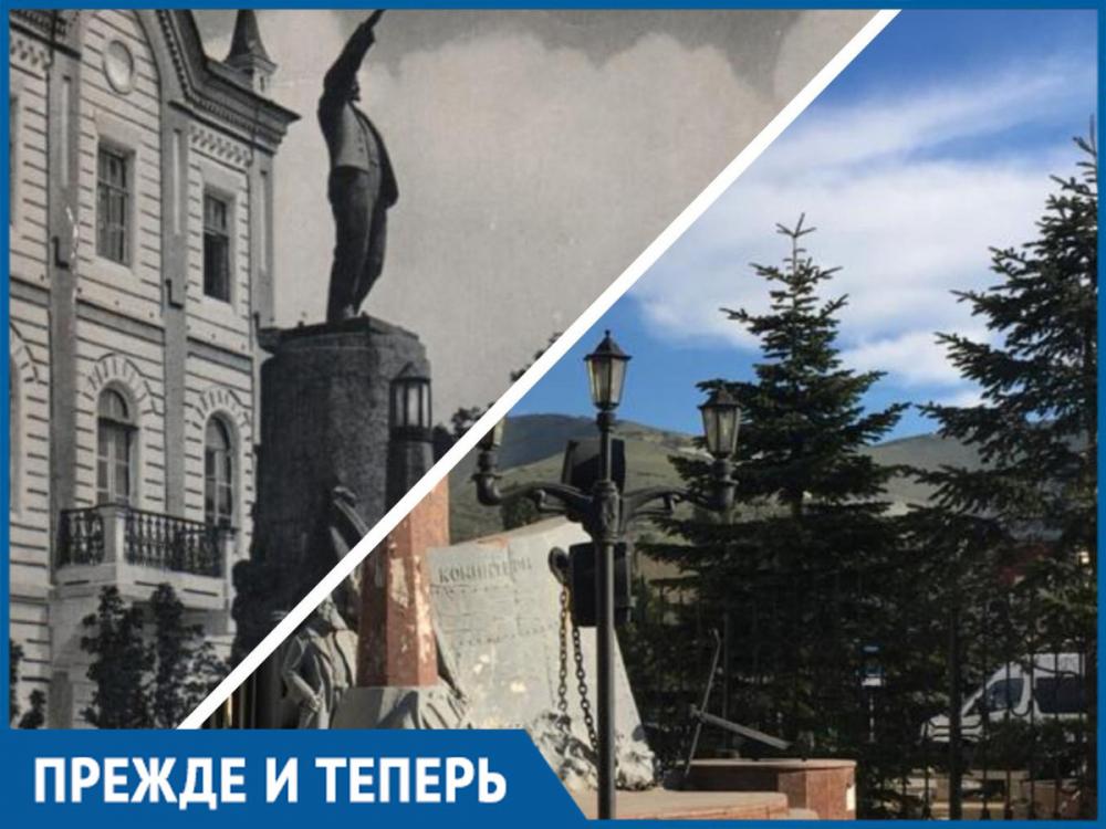 Где находится первый памятник Ленину в Новороссийске