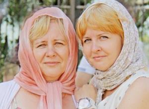 Марина и ее мама Виктория в конкурсе «Я и моя мама»