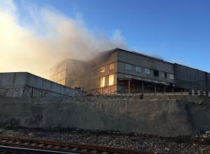 Крупный пожар полностью ликвидирован в Новороссийске