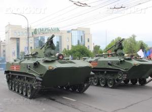 Техника, использовавшаяся на Параде Победы в Новороссийске, возвращена к месту приписки