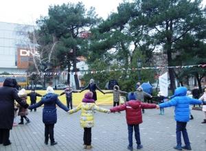 В Новороссийске начались масленичные гуляния