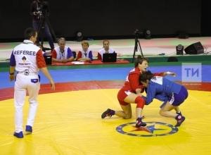 Самбистка из Новороссийска Этери Сехниашвили - третья на международном турнире