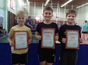 1-й тур Чемпионата Новороссийска по настольному теннису выявил сильнейших