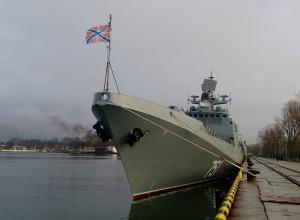 «Василий Быков» прибыл на военно-морскую базу Черноморского флота в Новороссийск