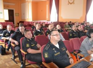 Новеллы избирательного законодательства поведали военнослужащим черноморского флота в Новороссийске