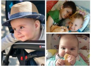 Доминик, Артур, Костя, Варвара - участники конкурса «Детки-конфетки»