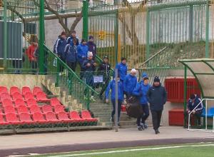 Новороссийский «Черноморец» провел первую тренировку в Новом году