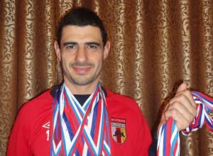 Звание «Заслуженный мастер спорта России» получил новороссиец Юрий Бурыкин