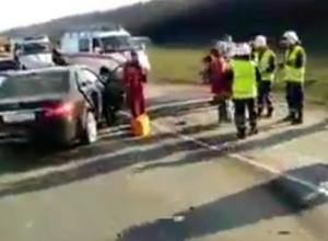 Смертельная авария произошла под Новороссийском