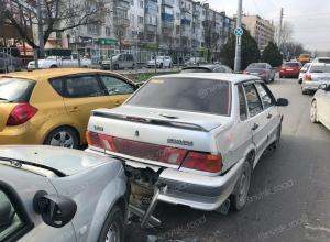 Новороссийск «парализовало» за час