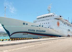 «Задымление» на круизном лайнере снова отложило его визит в Новороссийск