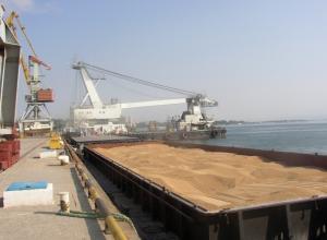 Рекордное количество зерна отгружено на экспорт в августе в Новороссийске