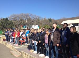 100 человек приехали в Новороссийск, чтоб стать квалифицированными вожатыми