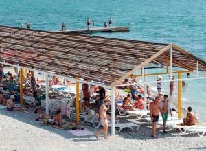 Новороссийский пляж обошел в рейтинге сочинский
