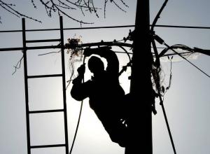 Тринадцать улиц в Новороссийске временно останутся без электроэнергии