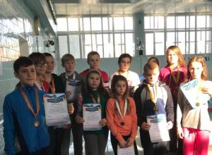 Пловцы спортивной школы «Дельфин» стали лучшими в Новороссийске