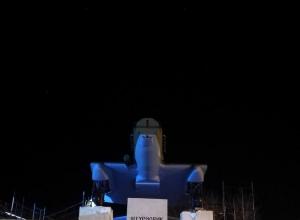 Легендарный штурмовик ИЛ-2 под покровом ночи вернулся в Новороссийск