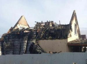 Пожар уничтожил дом новоросийцев