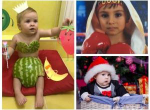Кира, Тигран и Ромик – участники конкурса «Детки-конфетки»