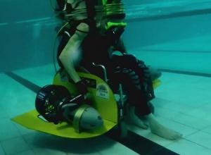 Первой в мире инвалидной подводной коляске очень нужен «Хрустальный компас»