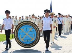 Самый масштабный парад первокурсников «Ушаковки» прошел в Новороссийске