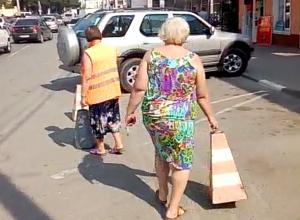 Лайфхак от новороссийца, как припарковаться у «Дома быта» на Бирюзова