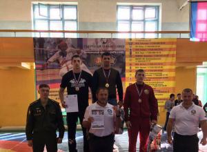 Новороссийские рукопашники вернулись с краснодарского турнира с наградами