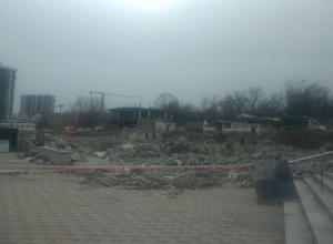 Что появится на месте «самостроя» на городском пляже Новороссийска