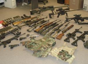 В Новороссийске за денежное вознаграждение принимают незаконное оружие