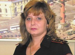 Старший инспектор Наталья Мельникова отмечает юбилей