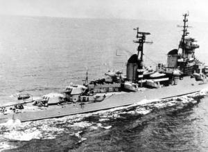 Крейсер «Михаил Кутузов» выполнял боевые задачи по оказанию помощи вооруженным силам Сирии и Египта